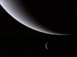 Neptune and Its Largest Moon, Triton