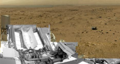 Billion Pixel Image of Rocknest Taken By Mars Curiosity Rover