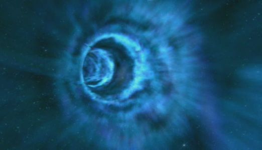 Wormhole in Space-Time