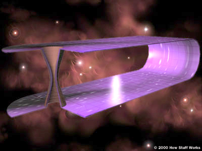 Wormholes Forming When Two Masses Apply Pressure on Space-time