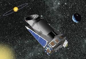 Artist Concept of Kepler Space Telescope