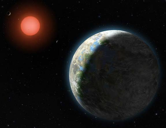 Gliese 581 System The Large Planet  is Gliese 581g