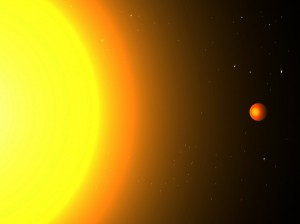 Kepler 78b Orbiting Its Star At A Very Close Distance