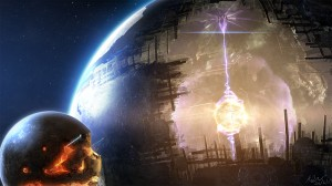Artists Concept of a Dyson Sphere