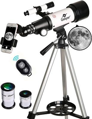Gskyer 70mm Refractor Telescope